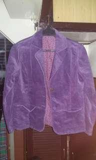 M&S Purple Blazer