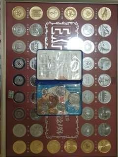 1970 Expo 70 Osaka Singapore coins and medals