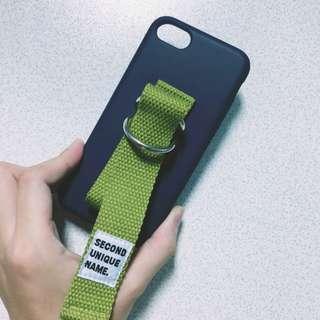 🚚 iphone 7/8 4.7吋 帆布 軟殼 全包 手機殼 三眼怪配色 韓國