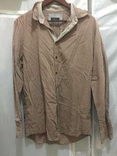 Zara Man Brown Shirt