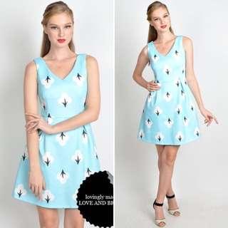Love & Bravery - Maple Sky Blue Dress