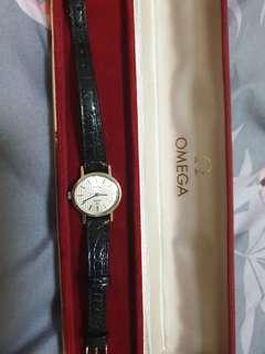 1970s Auth Omega hand winding ladies watch