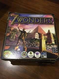 7 Wonders / Seven Wonders Boardgame