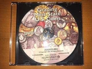 Grading Mint State US coins DVD
