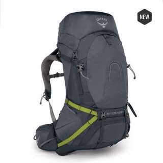 Osprey ATMOS AG™ 50 Backpack/ Haversack/ Thru -Hikking / ABYSS GREY