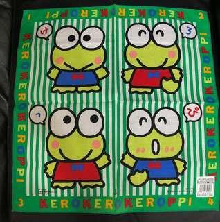 Sanrio Kerokerokeroppi KP 手巾 1990 (包平郵)