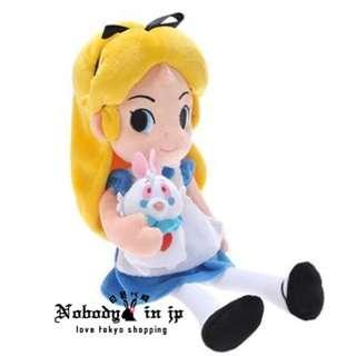 🚚 日本帶回🇯🇵迪士尼 愛麗絲夢遊仙境 愛麗絲 布偶 娃娃