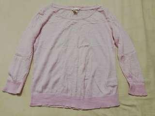 H&M Top Light Pink