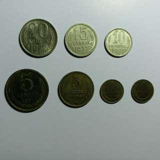 【錢幣收藏】蘇聯舊硬幣 CCCP old coins