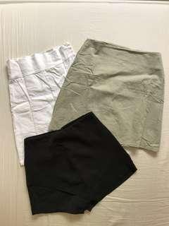 Skirts and Black Skort
