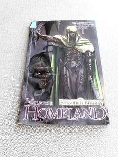 The legend of drizzt homeland english comics