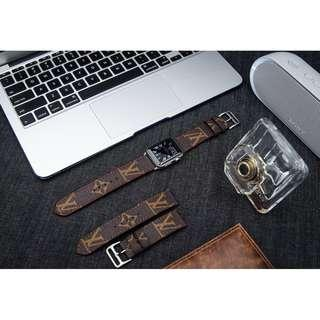 LV Apple Watch Band Louis Vuitton iwatch Band LV | MonoGram Watch Band | Fashion iwatch Band | Apple Watch Band 44mm 42mm 38mm Series 4,3,2