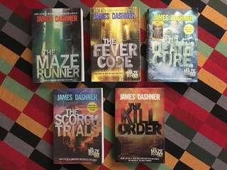 The Maze Runner Series Book Collection