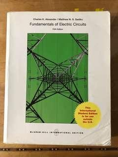 🚚 電路學fundamentals of Electric Circuits