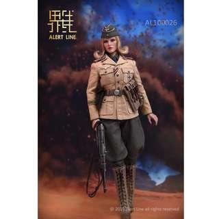[PRE ORDER] Alert Line - AL10026 - Afrika Female Officer - 1/6 Collectible Action Figure