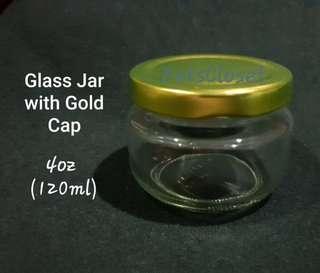 6pcs. GLASS Jar