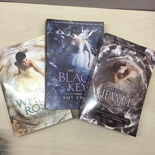 SIGNED The Jewel Trilogy of Amy Ewing