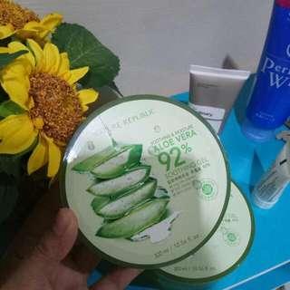 Nature Republic Soothing & Moisture Aloe Vera Gel 92%, 💯% ORI Tidak Jual Produk Kw/Fake