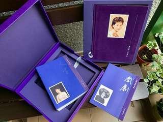 影迷公主陈宝珠 青春的一抹彩色 collectible photobooks in a purple box