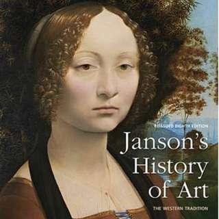Janson's History of Art - Eighth Edition