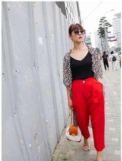 Linen Light Weight Pant-Made in Korea