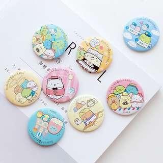 Sumikko Gurashi Travel Series Pin Badge
