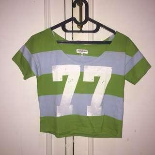[Colorbox Sport] Crop Tee 77 Green
