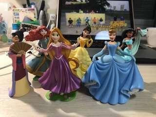 迪士尼公主們