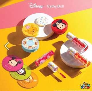 Tsum tsum x Cathy doll 控油粉底