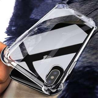 iPhone Samsung Huawei Oppo Transparent Slim Case