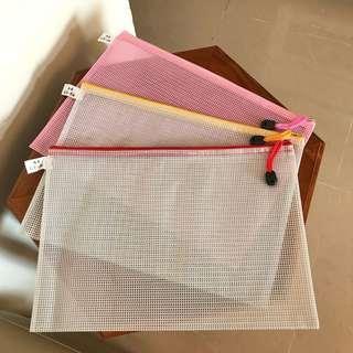 🈹全新A4文件袋(3件裝$21)一齊買