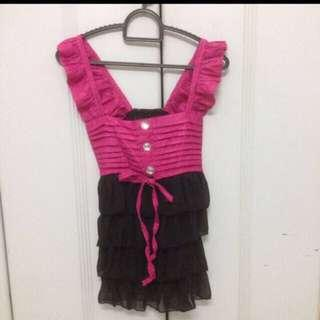 Chic frill top