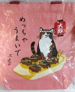 Miyake San 貓的布袋 totebag