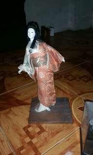 Vintage Geisha Doll+Free Shipping