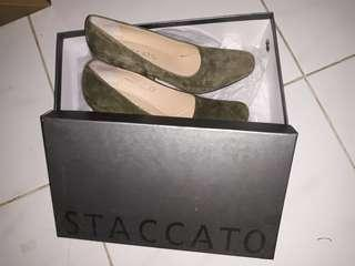 STACCATO ARMY HEELS