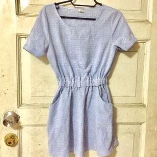 Light blue casual dress 😊