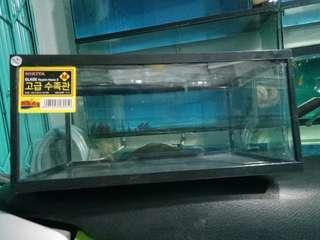 aquarium reptil home uk M 11 liter (pengiriman via gosend atau grab)