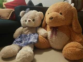Giant Teddy Bear- price for 2
