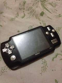 Defective sony psp mp5 game player