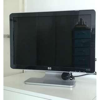 """HP Pavilion w1907 19"""" Monitor (FREE 15 Pin VGA Extension Cable)"""