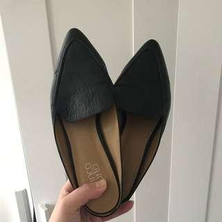 Franco sarto leather mules