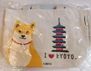 柴犬京都便當布袋