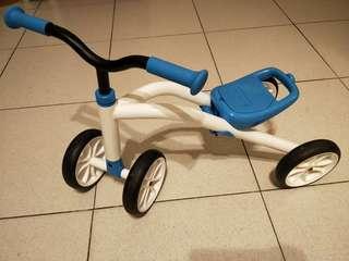 🚚 (免運費)比利時寶寶4輪滑行車(9成新)