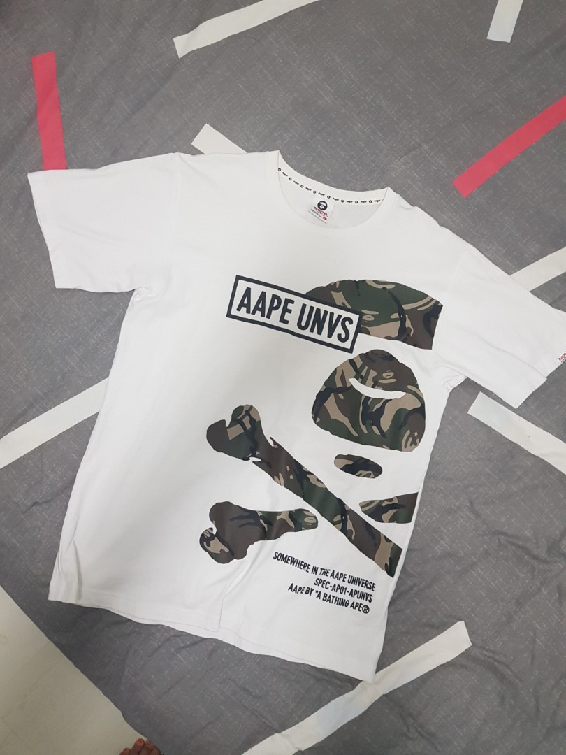 5fe57027 Aape Tee, Men's Fashion, Clothes, Tops on Carousell