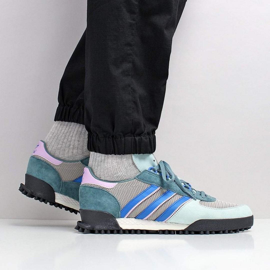 68f156f9752a Adidas Originals Marathon TR Shoes – Ash Green S18 Chalk White Core Black