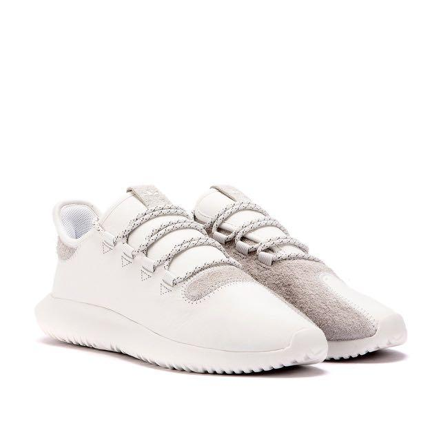 info for bfd4f 96804 ADIDAS Tubular Shadow White Leather Suede, Men's Fashion ...