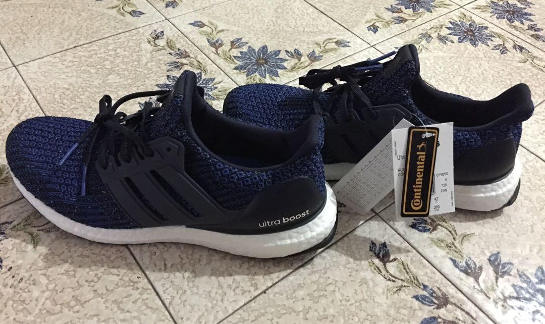 Adidas Ultra Boost 4.0 Carbon/Navy, Men