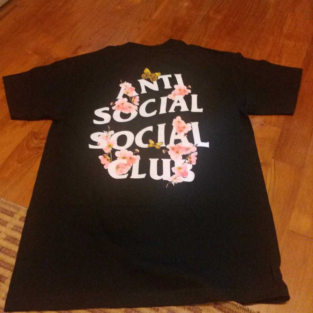 8e54d0b66952 Anti Social Social Club KKoch Tee Medium Black ASSC