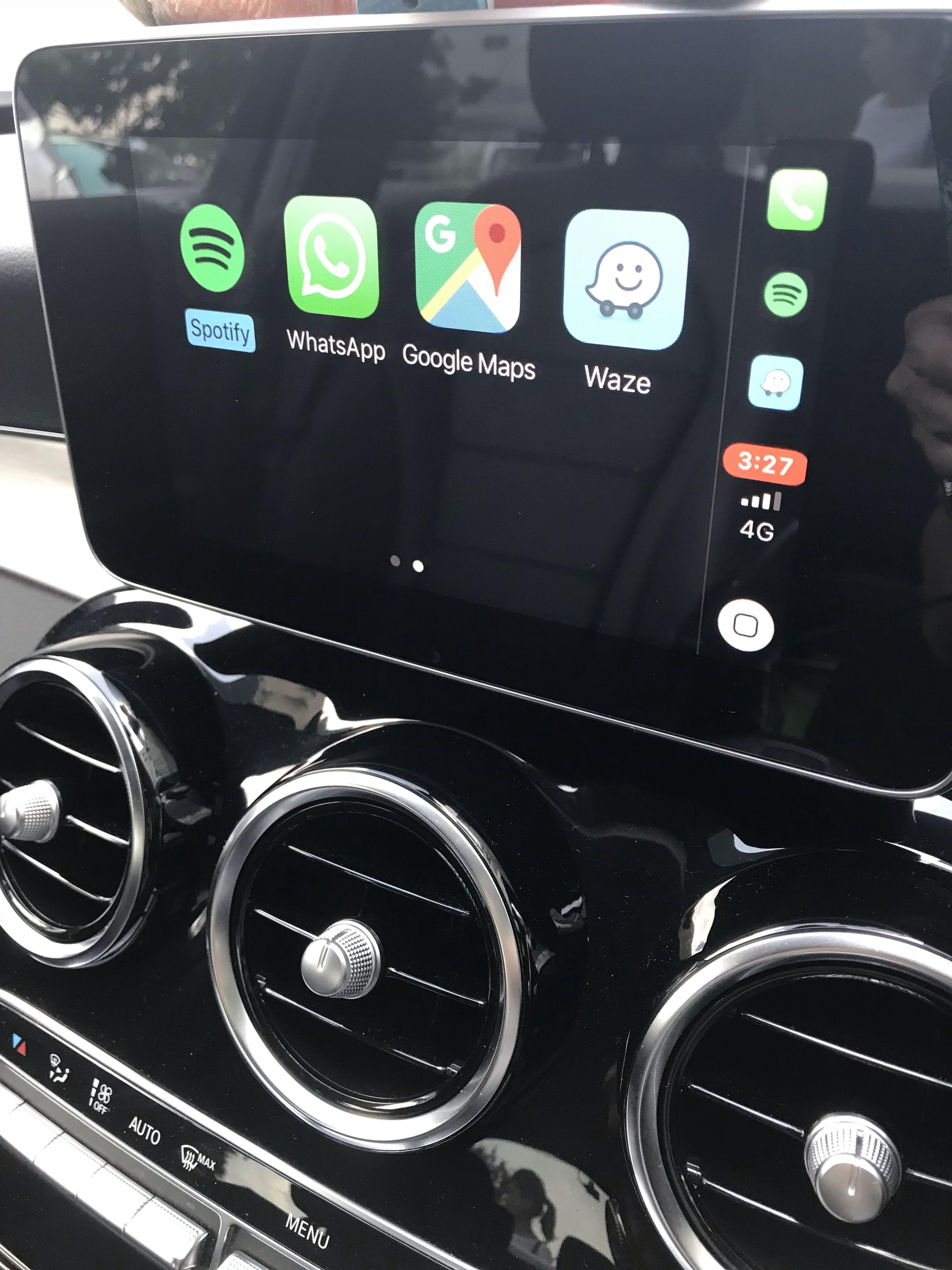 Apple Carplay and Android Auto for Mercedes Benz W205 & GLC