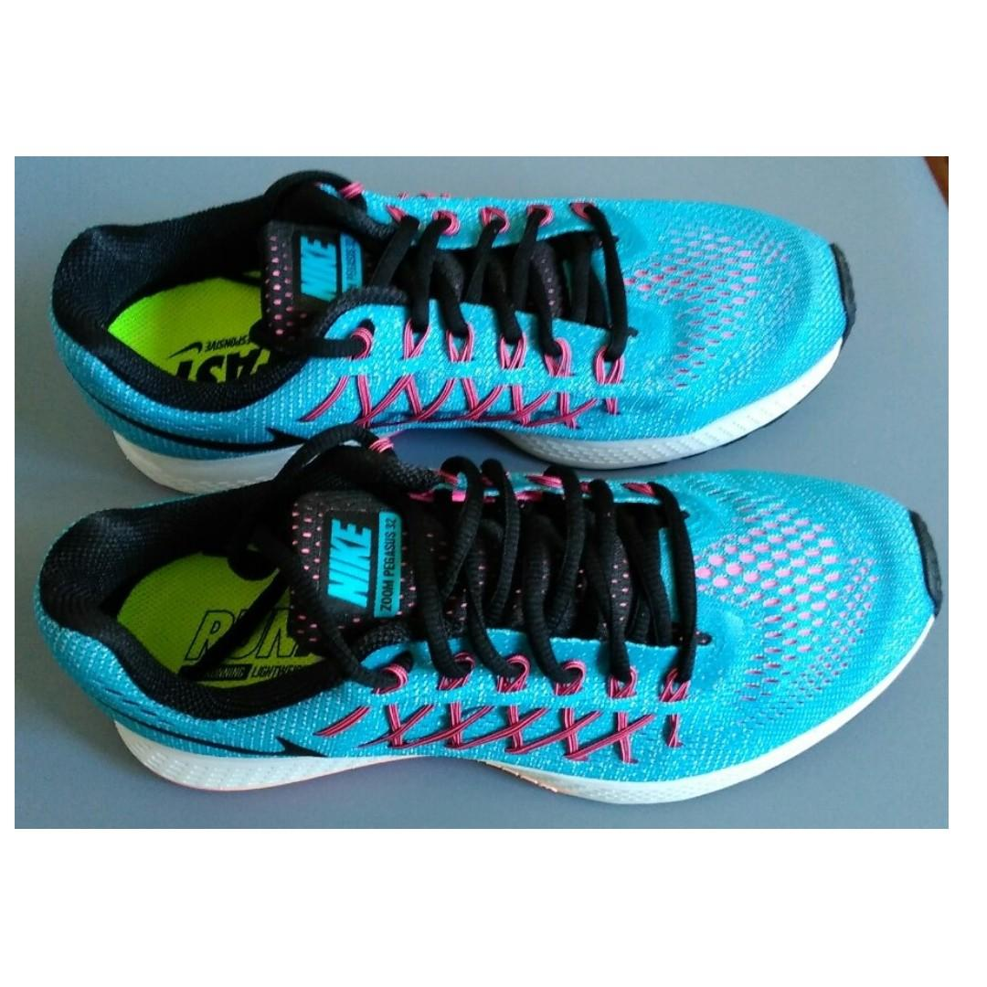 AUTHENTIC NIKE WOMENS' AIR ZOOM PEGASUS 32 RUNNING SHOES on